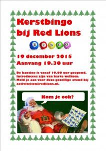 Uitnodiging Kerstbingo